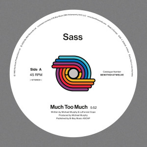 SASS - Much Too Much (2020 Reissue)