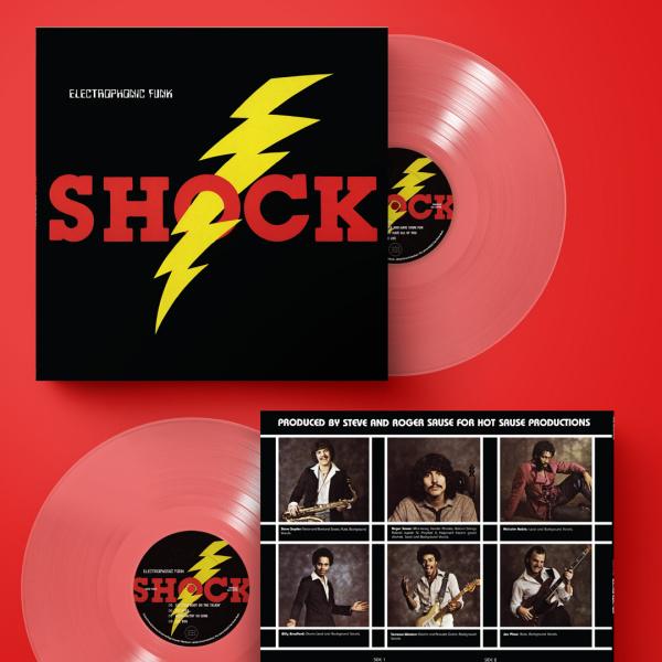 SHOCK - Eletrophonic Funk (Reissue) (Back)