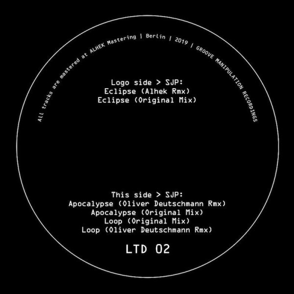 SJP - Ltd 02 (incl. Oliver Deutschmann & Alhek Remixes) (Back)