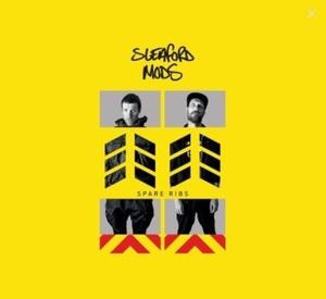 SLEAFORD MODS - Spare Rips (Black Vinyl LP)