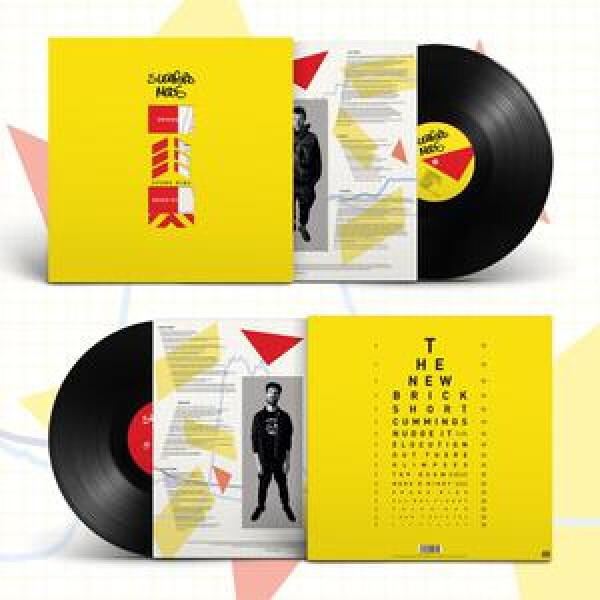 SLEAFORD MODS - Spare Rips (Black Vinyl LP) (Back)