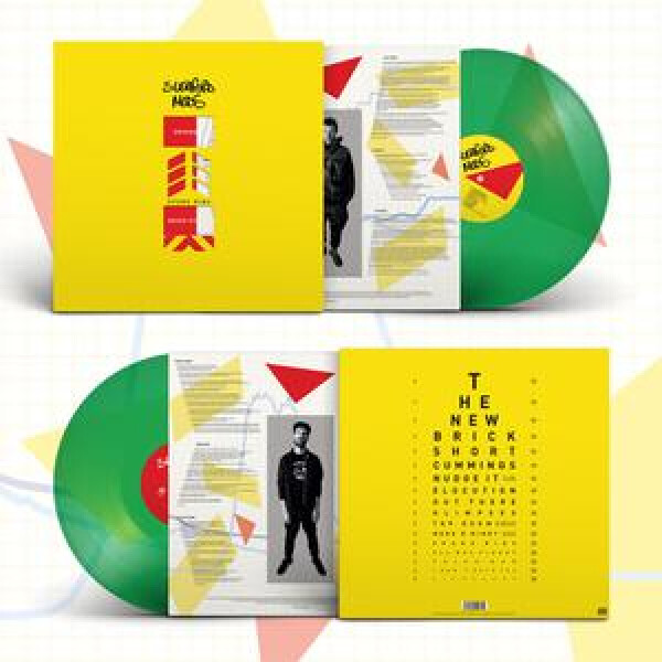 SLEAFORD MODS - Spare Rips (Ltd. Green Coloured Vinyl LP)