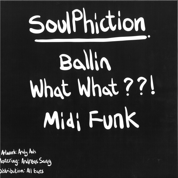 SOULPHICTION - WHAT WHAT EP (Back)