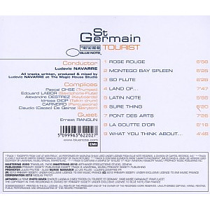 ST Germain - Tourist (Remastered) (Back)
