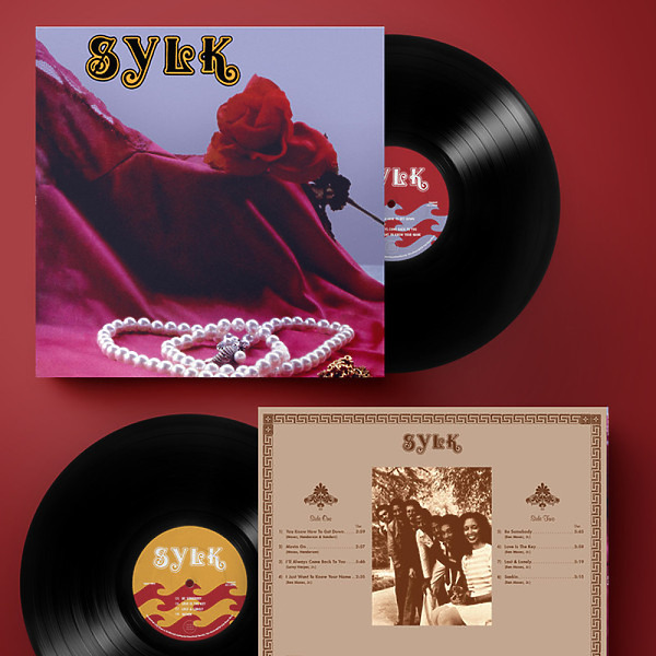 SYLK - SYLK (Strictly Ltd. 180g Vinyl Reissue LP) (Back)