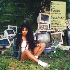 SZA - Ctrl (Translucent Green Vinyl 2LP)