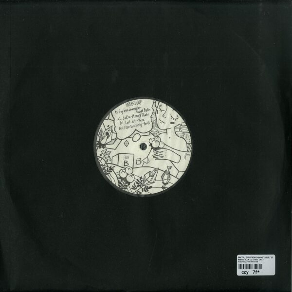 Saktu / Guy From Downstairs / Lost.Act / Stan Yaro - HSBRG BLCK 01 (VINYL ONLY) (Back)