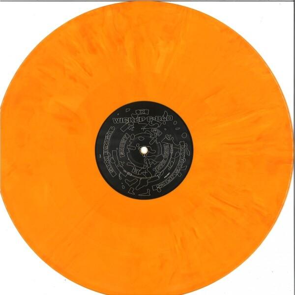 Sam Binga & Hyroglifics - Wicked & Bad EP [printed pvc sleeve / yellow-orang (Back)