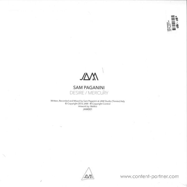 Sam Paganini - Desire / Mercury (Back)