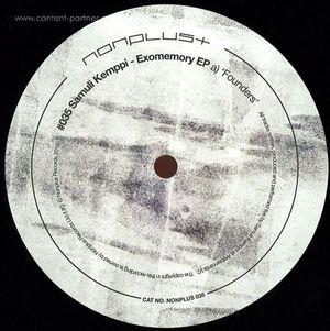 Samuli Kemppi - Exomemory EP
