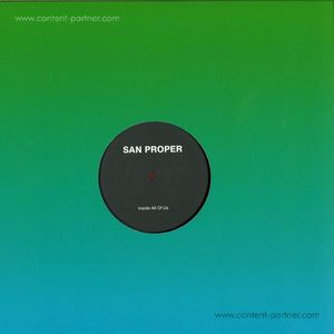 San Proper - Inside All Of Us (working Title)