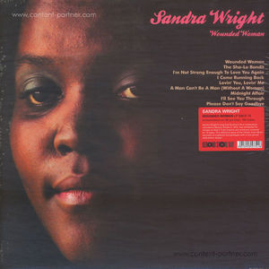 Sandra Wright - Wounded Woman (LP/180g/Remastered)