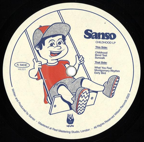 Sanso - Childhood LP (Back)