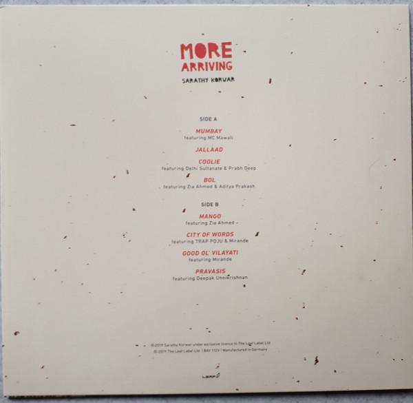Sarathy Korwar - More Arriving (Vinyl LP) (Back)
