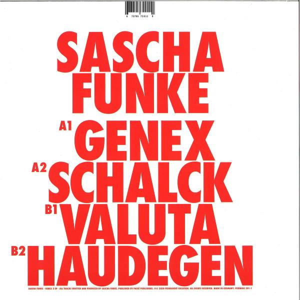 Sascha Funke - Genex 2 (Back)