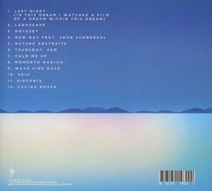 Satoshi Tomiie - New Day (CD) (Back)