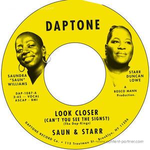 Saun & Starr - Look Closer / Blah Blah Blah Blah Blah