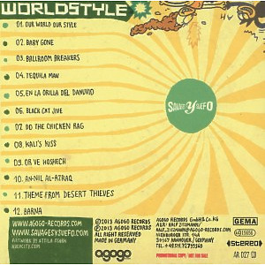 Savages Y Suefo - Worldstyle (Back)