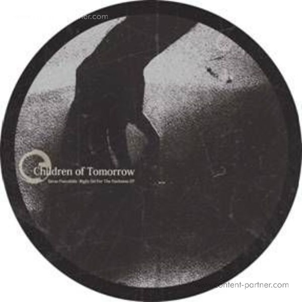 Savas Pascalidis - Right On For The Darkness EP (Back)