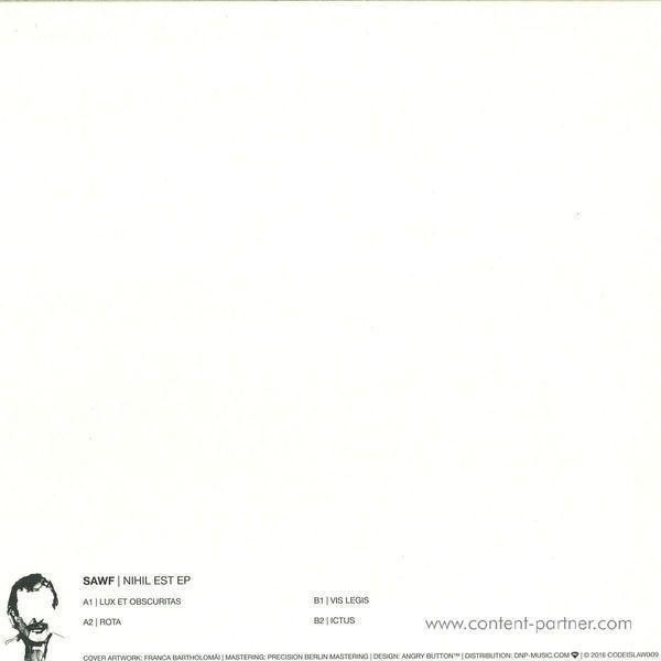 Sawf - Nihil Est Ep (Back)