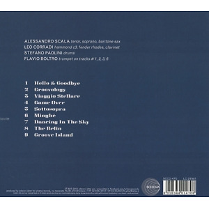 Scala,Alessandro Groovology Trio - Groove Island (Back)
