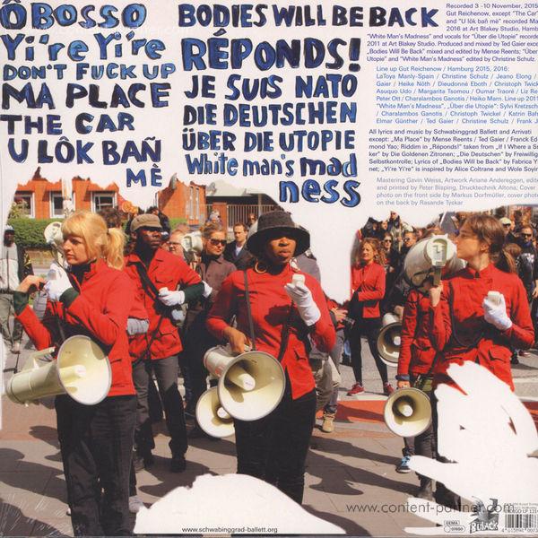 Schwabinggrad Ballett / Arrivati - Beyond Welcome! (LP) (Back)