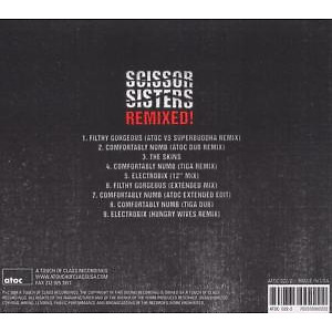 Scissor Sisters - Remixed! (Back)