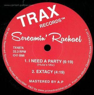 Screamin Rachael - Queen of House - EP Sampler