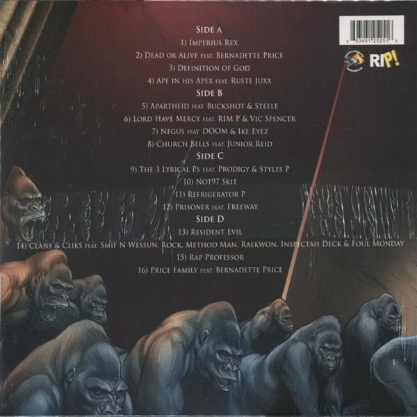 Sean Price - Imperius Rex (Colored Vinyl) (Back)