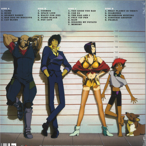 Seatbelts - Cowboy Bebop (Original Series Soundtrack) 2LP (Back)