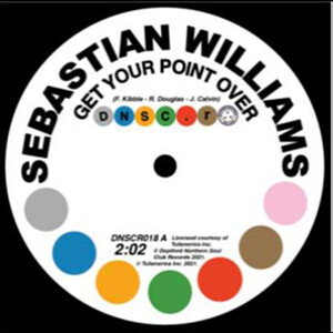Sebastian Williams - Get Your Point Over/I Don't Care What Mama Said (B