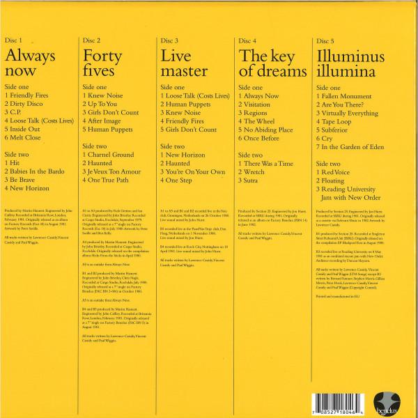 Section 25 - Always Now (Ltd. Deluxe 5LP Box Set) (Back)