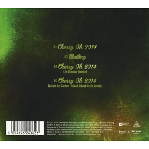 Seeed - Cherry Oh 2014 (Back)
