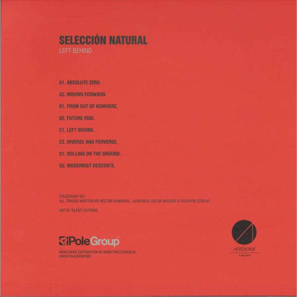 Selección Natural - Left Behind LP (Back)