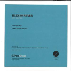 Seleccion Natural - Split Didactics EP (Back)