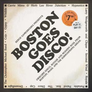 "Serge Gamesbourg / Various Artists - Boston Goes Disco! (3LP+7"")"