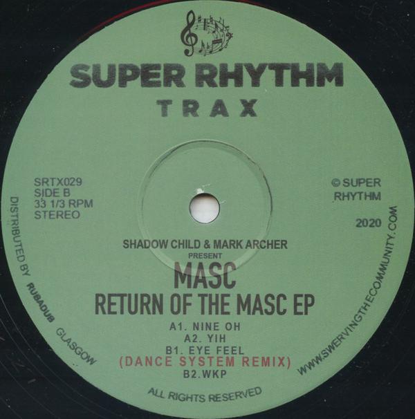 Shadow Child & Mark Archer present MASC - Return Of The MASC