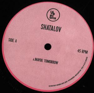 Shatalov - Maybe Tomorrow EP