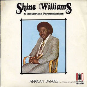 Shina Williams & His African Percussionists - African Dances (Reissue 2018)