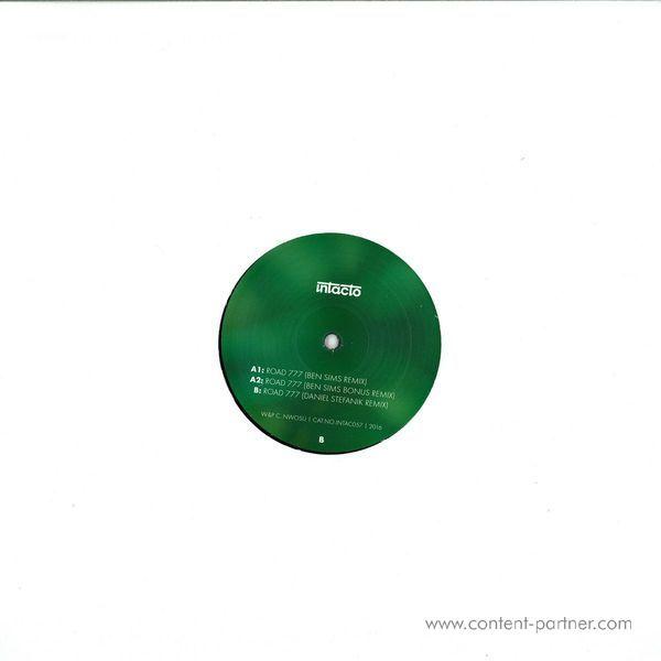 Shindedoe - Road 777 EP (Remixes Part 1) (Back)