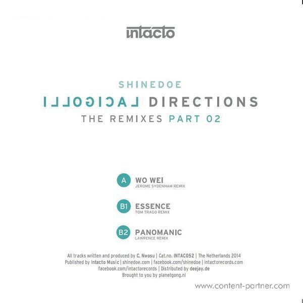 Shinedoe - Illogical Directions -The Remixes Part 2
