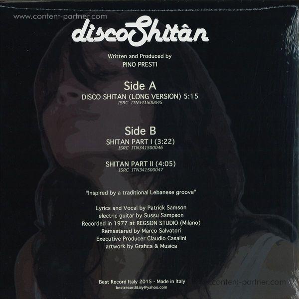 Shitan - Disco Shitan (Back)