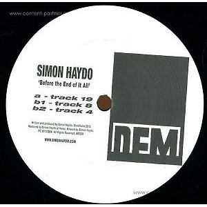 Simon Haydo - Before The End Of It All (vinyl Only)