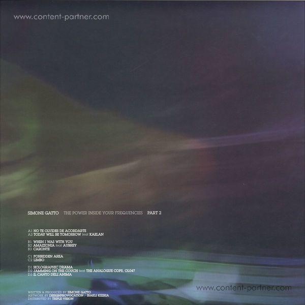 Simone Gatto - Heaven Inside Your Frequencies Lp Pt. 2 (Back)