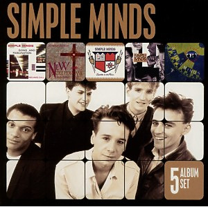 Simple Minds - 5 Album Set