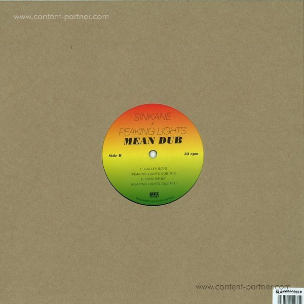 Sinkane - Mean Dub EP (Back)