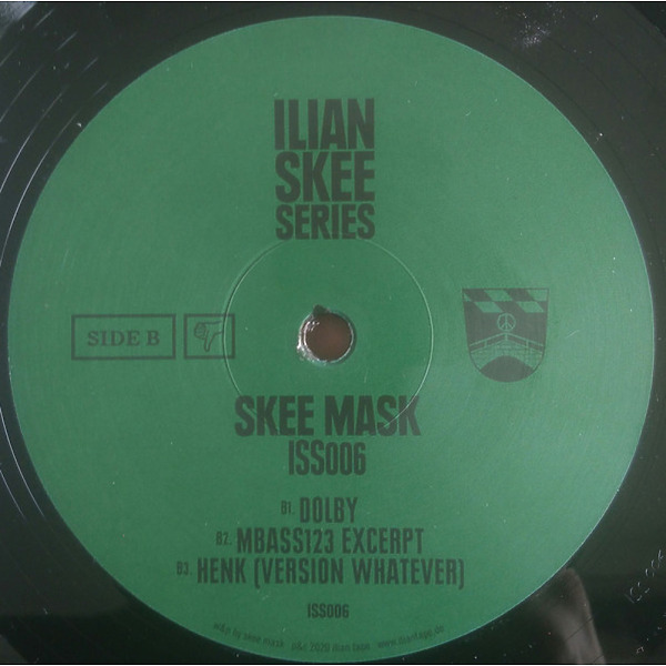 Skee Mask - ISS006 (Back)