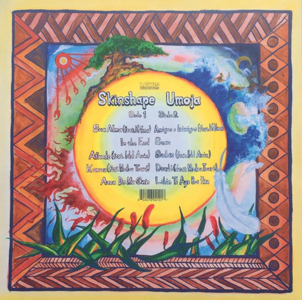 Skinshape - Umoja (LP) (Back)