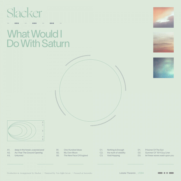 Slacker - What Would I Do With Saturn (Back)