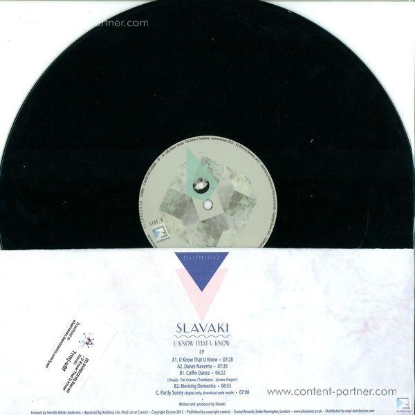 Slavaki - U know that u know EP (Back)